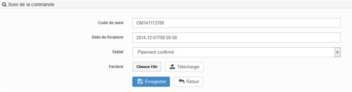 Suivi de commande : les actions possibles en Back Office